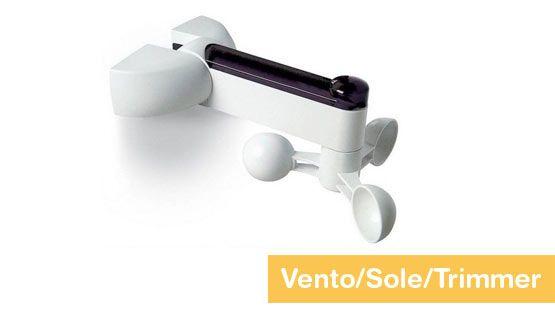 Sensore climatico Nice - Anemometro (Vento e Sole) con trimmer per tende da sole