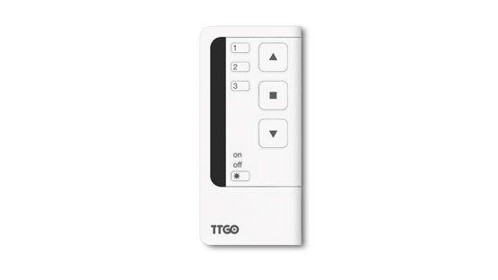 Telecomando Nice TG3s Trasmettitore a 3 canali con comando Sole per tende e tapparelle