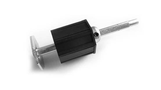 Calotta registrabile in plastica PVC per rullo per tapparelle avvolgibili