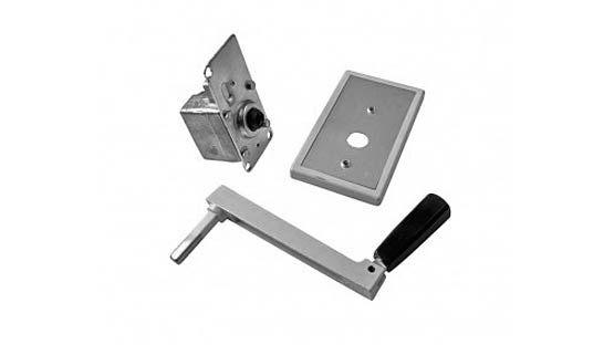 Argano BGM 30 Kg. con meccanismo, placca e manovella per tapparelle avvolgibili
