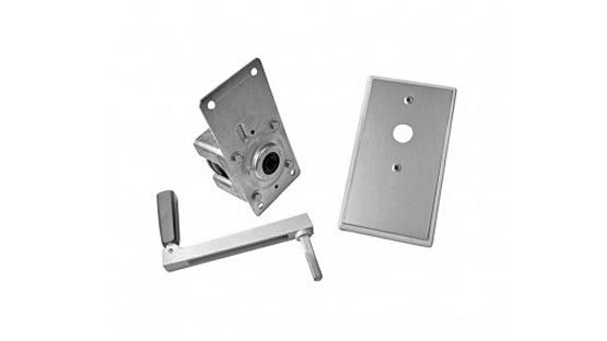 Argano BGM 50 Kg. completo di meccanismo, placca e manovella per tapparelle avvolgibili