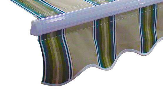Volant in tessuto TEMPOTEST cucito o saldato per tende da sole