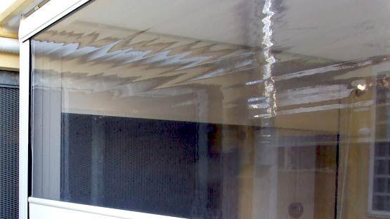Tessuti saldati CRYSTAL per tende da sole