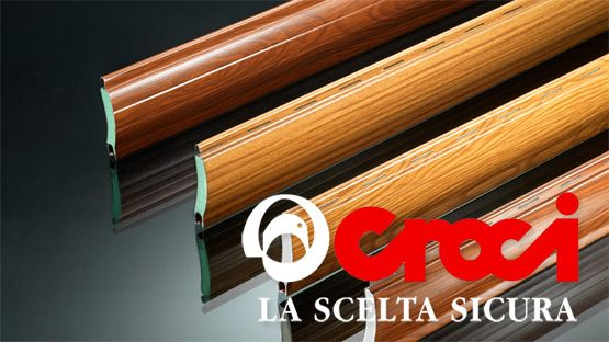 Tapparella in alluminio coibentato alta densità marchio Croci